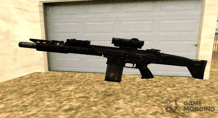 Contract Wars SCAR-H