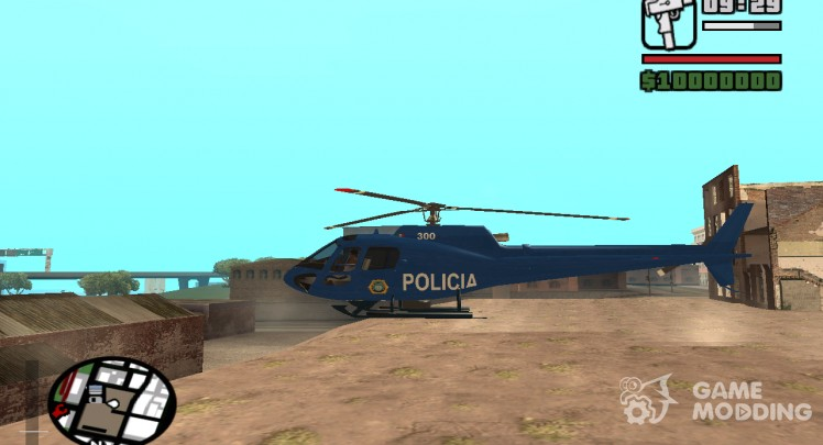 Eurocopter AS 550 Police D.F.