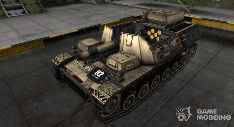 The skin for the Sturmpanzer II