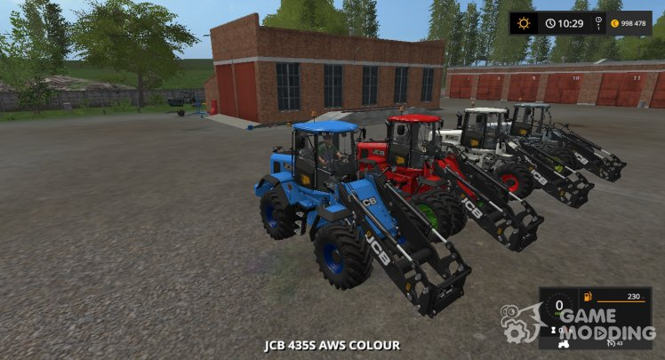 JCB 435S AWS Multicolor version 2.1.0.0