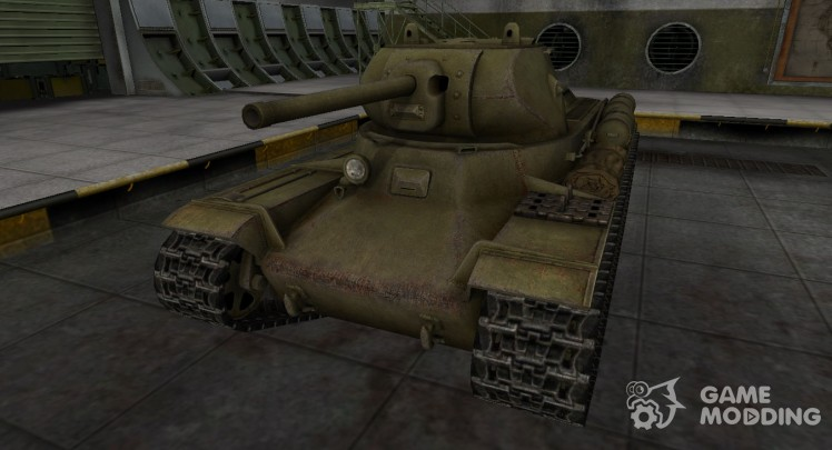 The skin for the kV-13 in rasskraske 4BO
