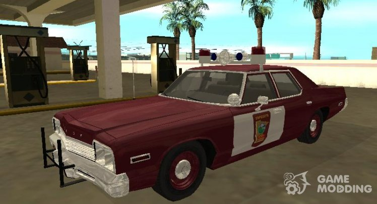 Dodge Monaco 1974 Minnesota State Trooper