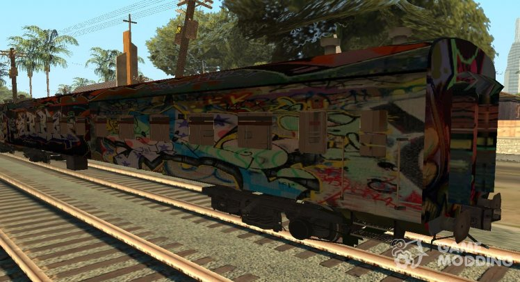 Cool Train Graffiti (Cars)