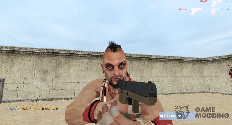 Vaas Montenegro from Far Cry 3