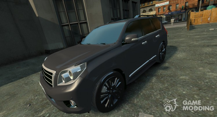Toyota Land Crusier Prado 150 для GTA 4