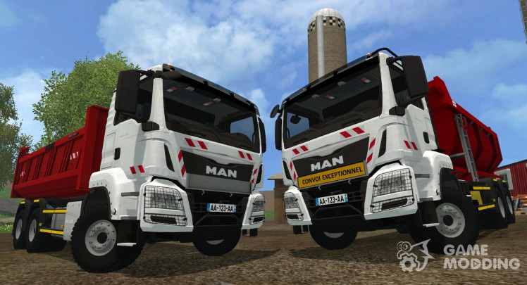 MAN TGX 6 × 4 Tipper