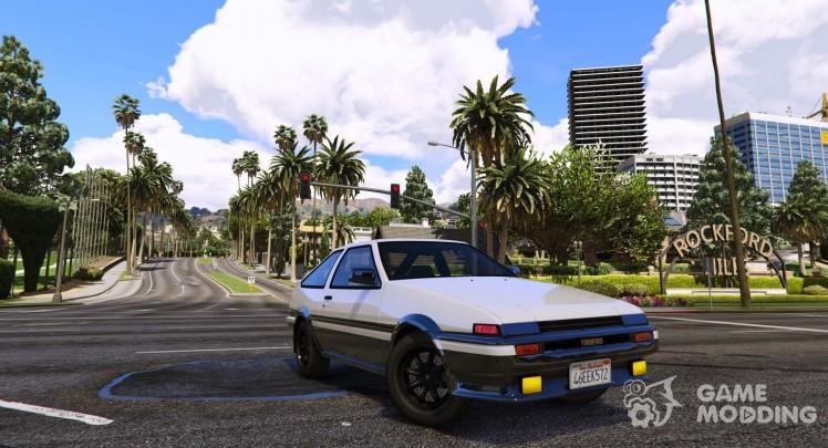 1985 Toyota Sprinter Trueno GT Apex (AE86) 7.5