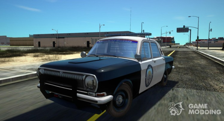 ГАЗ 24 Police Highway Patrol