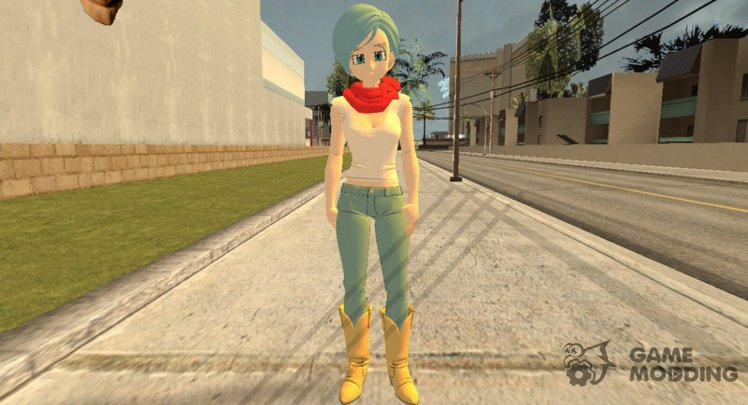 Bulma from Dragon Ball FighterZ