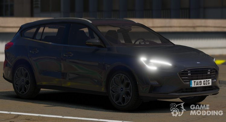 2019 Police Unmarked Ford Focus Wagon
