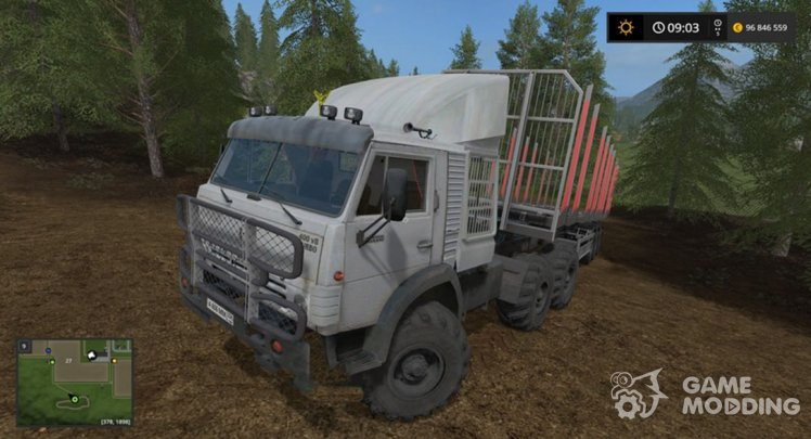 KamAZ 4310 Turbo MR for Farming Simulator 2017