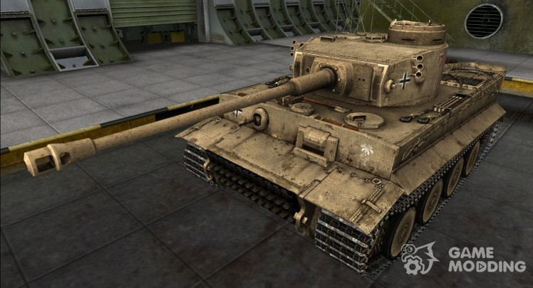 Remodelling for Panzer VI Tiger