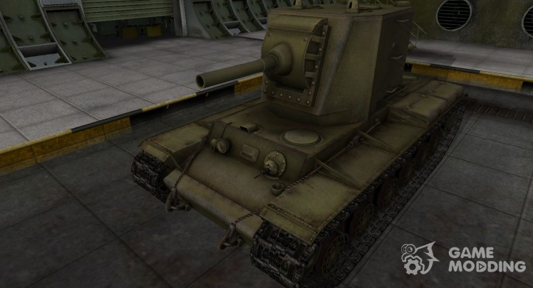Emery cloth for KV-2 in rasskraske 4BO