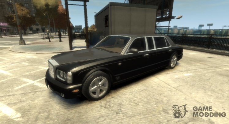 2002 Bentley Arnage Limousine