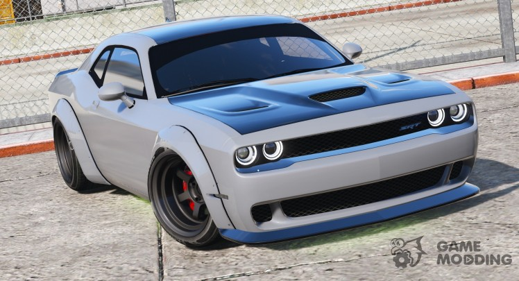 Dodge Challenger Hellcat Libertywalk-The Fate of the Furious Edition