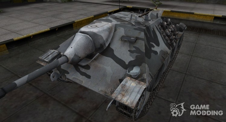 The skin for the German Hetzer tank