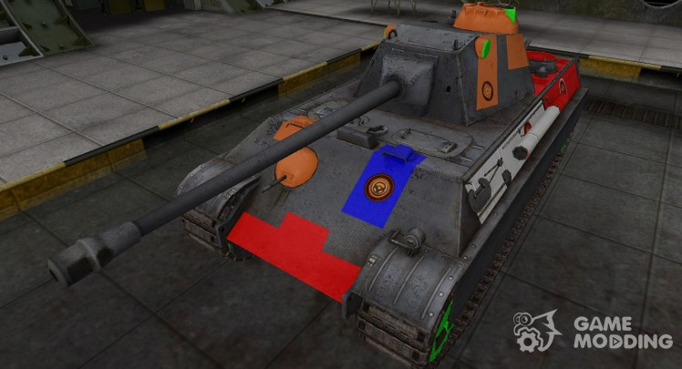 High-quality skins for Panther II