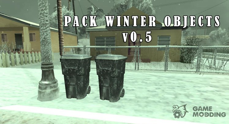 Winter Pack Objects v0.5