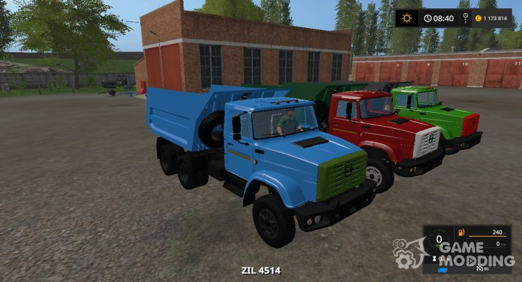 ZIL-4514 Gear Box version 1.3.0.6