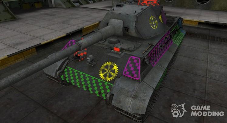 Качественные зоны пробития для PzKpfw VIB Tiger II