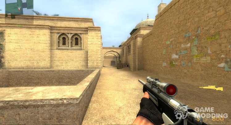 Two-tone Scout for Counter-Strike Source
