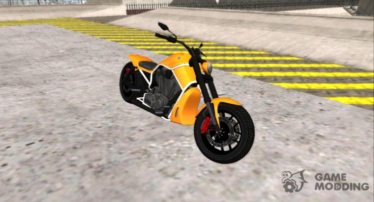 GTA V Western Motorcycle Nightblade V2 Stock