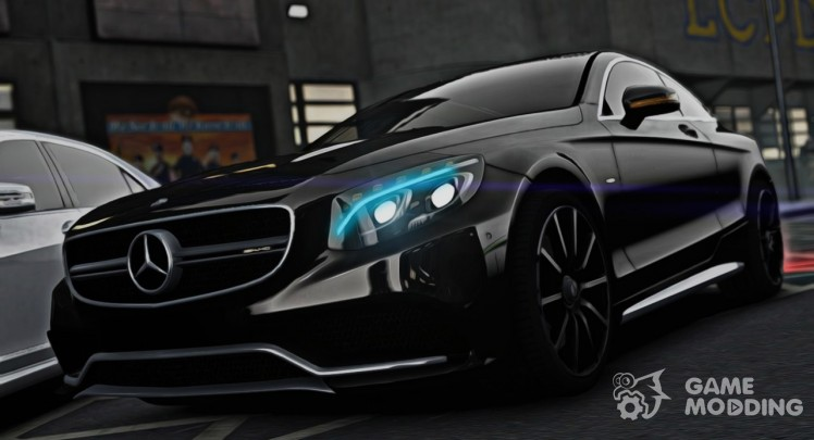 Mercedes-Benz S63 Coupe AMG 2015 для GTA 4