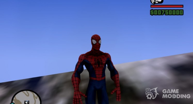 Ultimate Spiderman skin