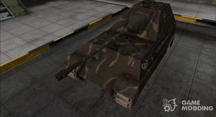 The skin for the JagdPanther II