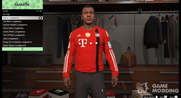 FC Bayern goalkeeper shirt for Franklin