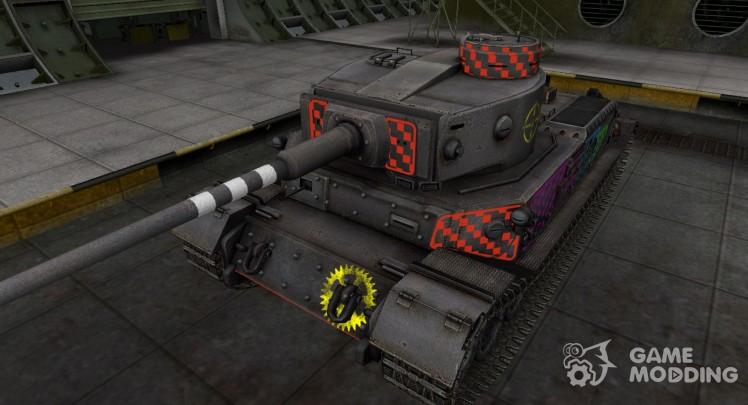 Качественные зоны пробития для PzKpfw VI Tiger (P)