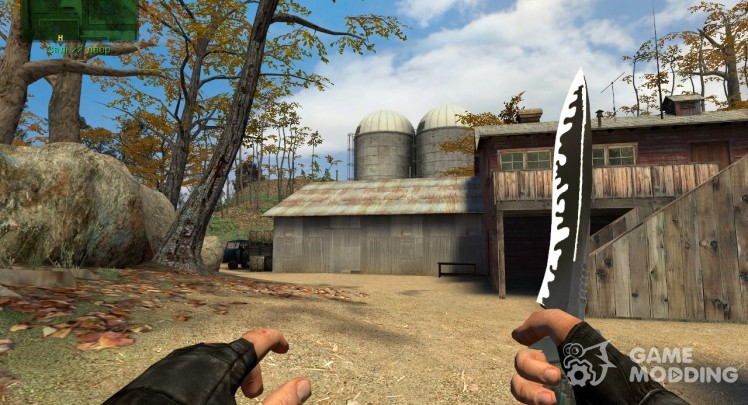 Knife New Texture