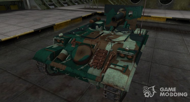 French bluish skin for AMX 13 F3 AM