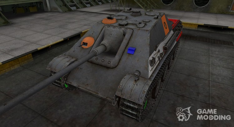 High-quality skins for Jagdpanther for World Of Tanks