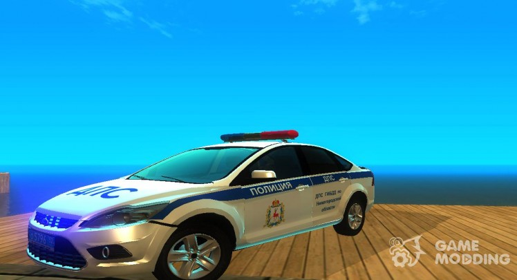 Ford Focus 2009 Police DPS of the Nizhniy Novgorod region