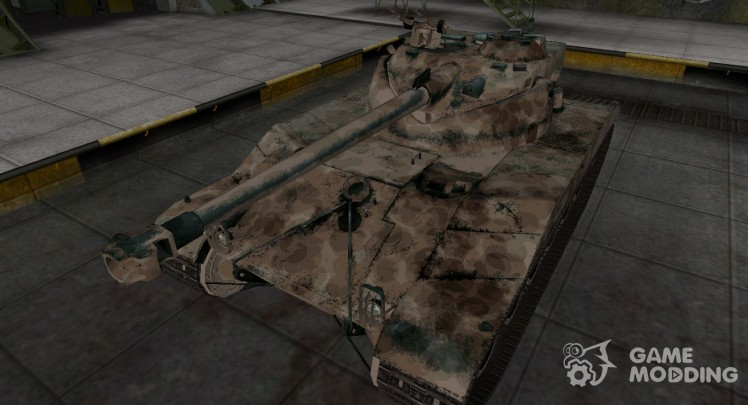 French skin for Bat Chatillon 25 t