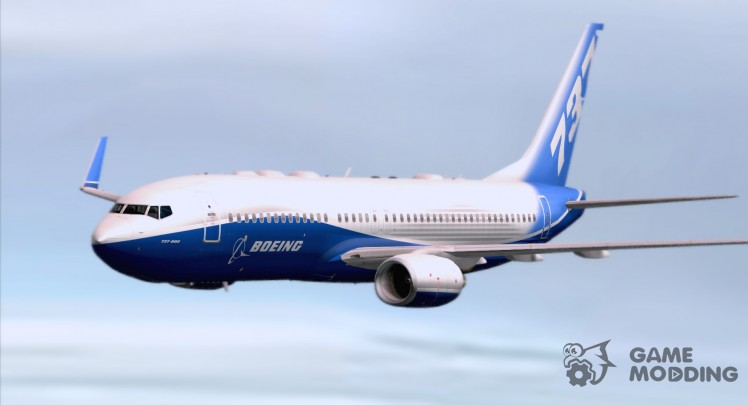 Boeing 737-800 Boeing House Colors