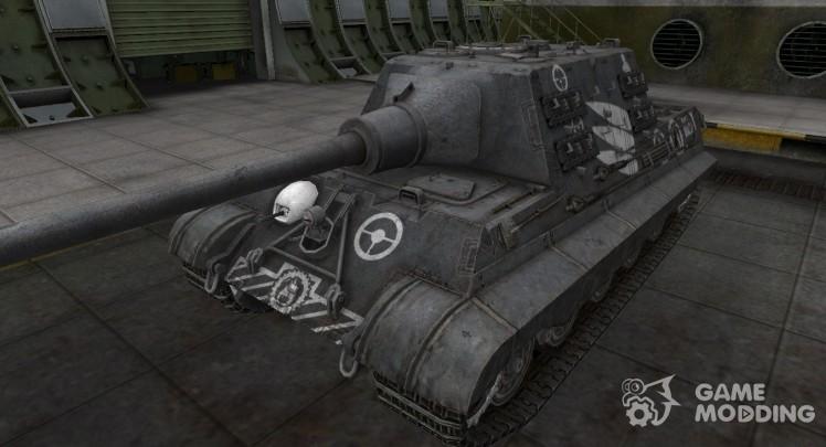 Зоны пробития контурные для Jagdtiger