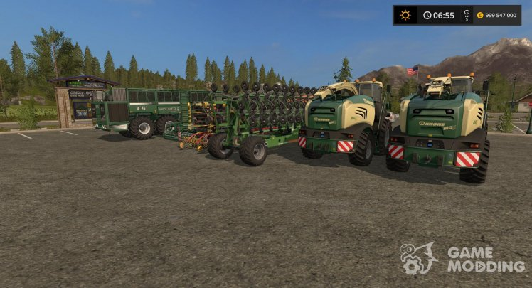Machinery for sugarcane for Farming Simulator 2017