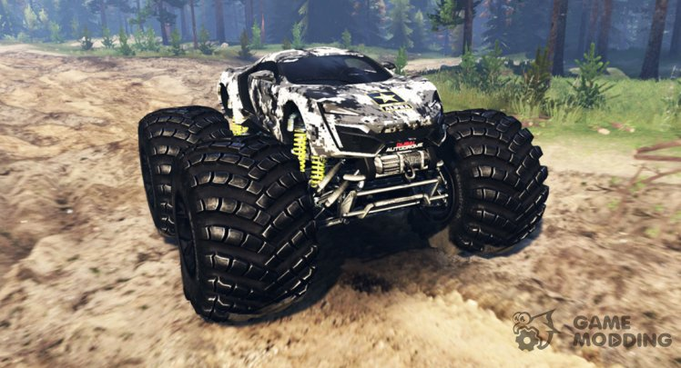 Lykan HyperSport monster truck
