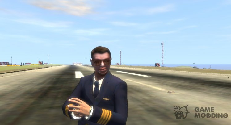 Roman Bellic (Aviation Pilot)