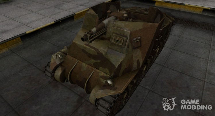 Emery cloth for American tank T40