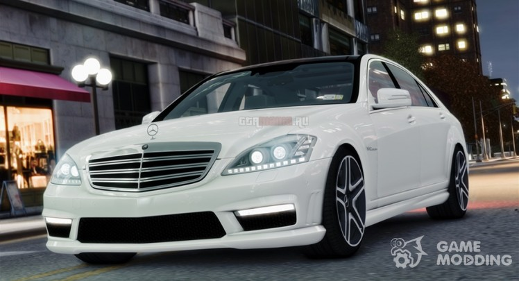 Mercedes-Benz S65 AMG W221 Stock v1.2