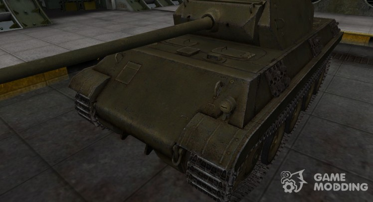 Skin camouflage for the Panther tank/M10