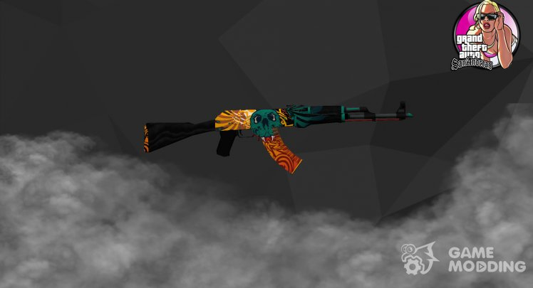 AK-47 Dragon's flame