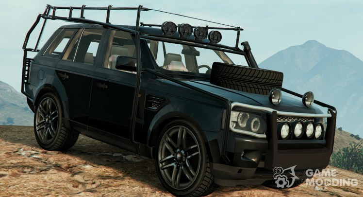 Range Rover Sport Military(Police Assault Vehicle 2.0)