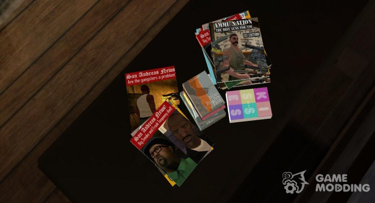 New magazines in the house CJ'â