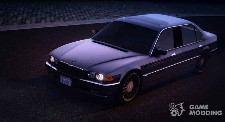 2001 BMW Alpina B12 6.0 Lang (E38/US/FL)