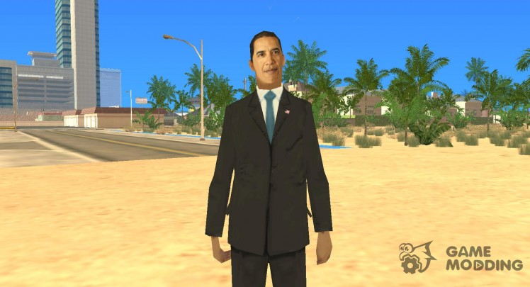 Barack Obama in the Gta