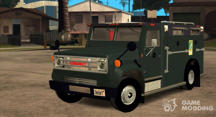 GMC 6000 Armored Truck 1985